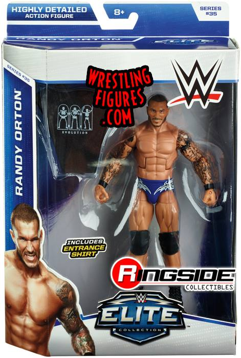 WWE Elite 35 Randy Orton Evolution Mattel Elite toys action figures 2015