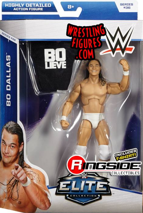 Bo Dallas WWE Elite Series 36 toy crazy 2015