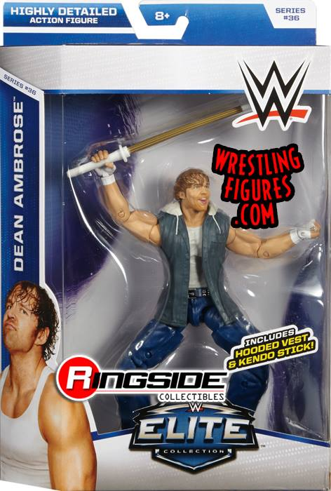 Dean Ambrose WWE Elite series 36 lunatic fringe toy