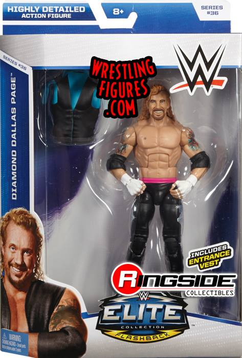 Diamond Dallas Page WWE Elite series 36 DDP Yoga