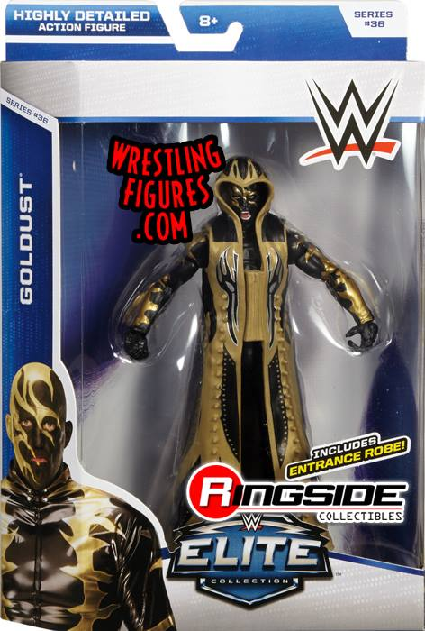 Goldust WWE Elite series 36 toy mattel