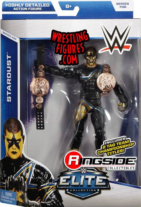 Stardust WWE Elite series 36 mattel toy