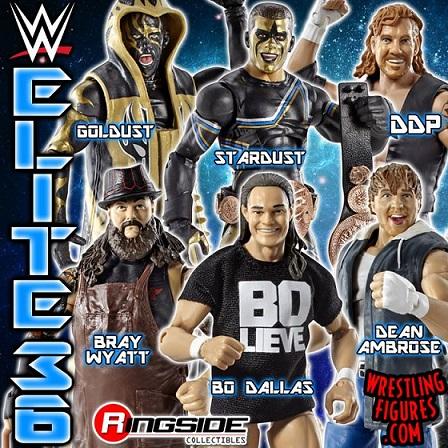 WWE Elite Series 36 Bo Dallas DDP Dean Ambrose, Goldust Stardust Bray Wyatt toys