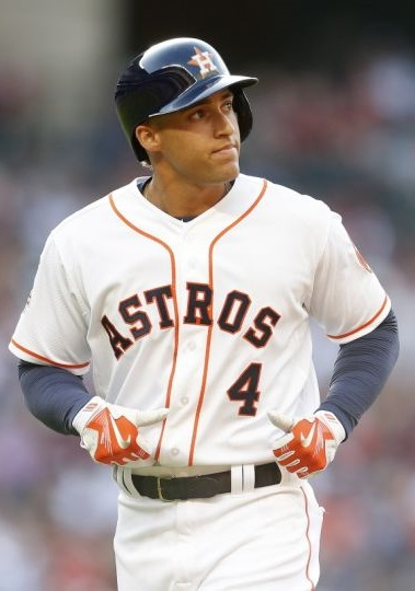 George Springer road dogs mlb 2015 houston astros