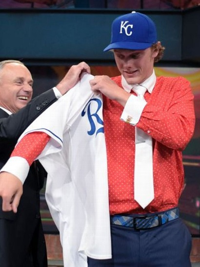 Rob Manfred 2015 MLB Draft all name team funny hilarious