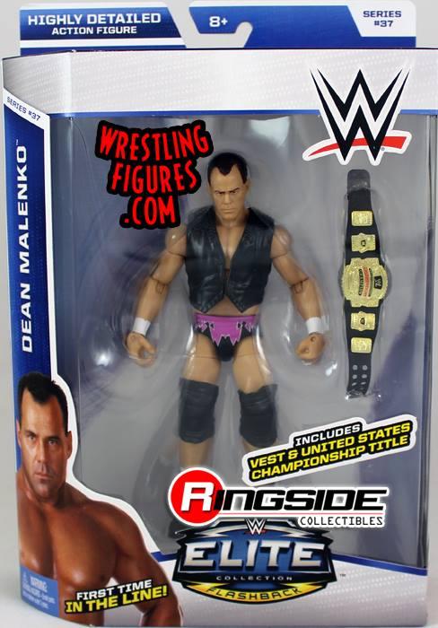Elite 37 Dean Malenko Flashback WCW WWE Mattel toys