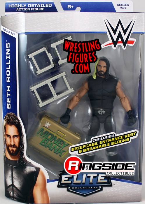 Elite 37 Seth Rollins Hell In A Cell WWE Mattel toys