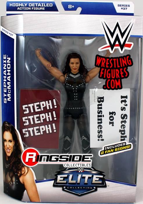 Elite 37 Stephanie McMahon WWE Mattel Summerslam toys