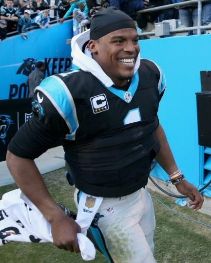 Cam-Newton-carolina panthers happy 2015 undefeated