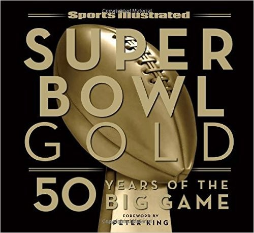 Super Bowl Gold sports illustrated book