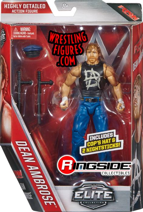 WWE Mattel Elite 41 Dean Ambrose toys