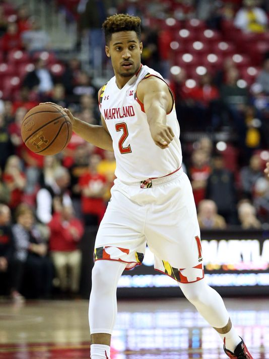melo trimble maryland terrapins 2016 ncaa tournament south dakota state jackrabbits