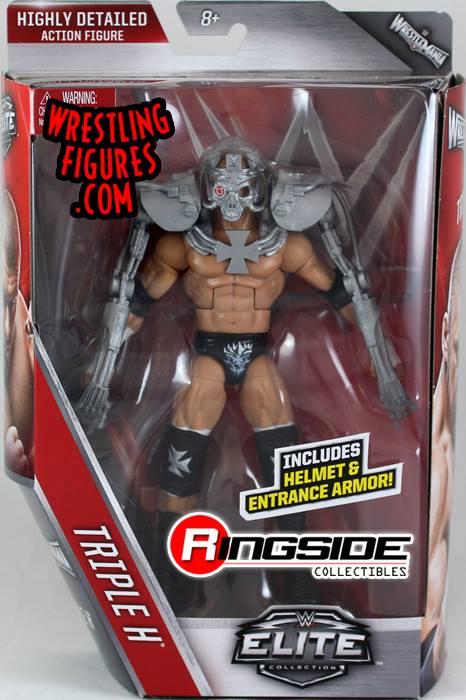 wwe Elite 42 Triple H Terminator Wrestlemania toys action figures mattel