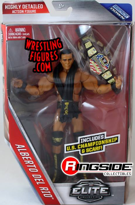 Elite series 43 Alberto Del Rio wrestling figures toy crazy WWE Mattel