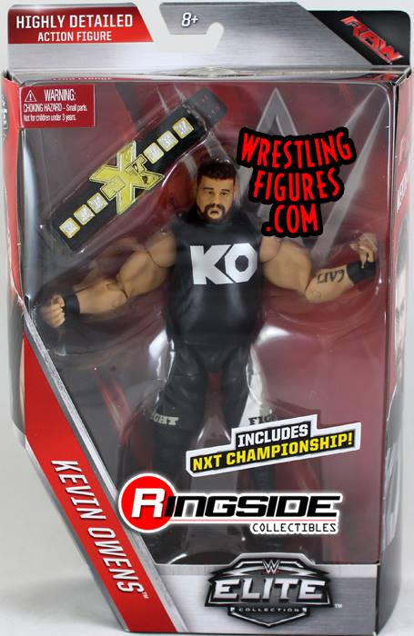 Elite series 43 Kevin Owens Kevin Steen NXT wrestling figures toy crazy WWE Mattel ROH