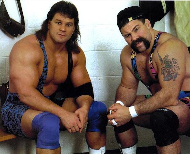 Steiner Brothers WWF WWE Hall of Fame Rick Scott