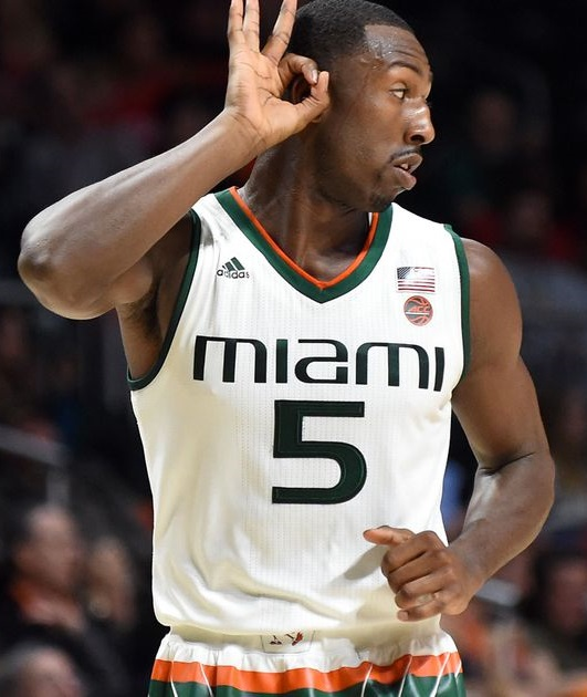 2017 Davon Reed Miami Hurricanes NCAA Tournament March Madness