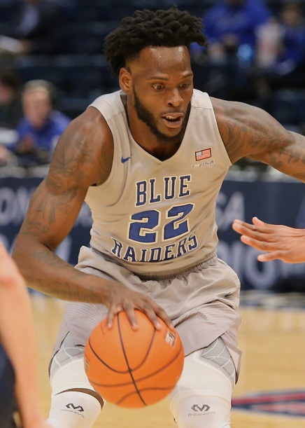 2017 JaCorey Williams Middle Tennessee Blue Raiders NCAA Tournament March Madness