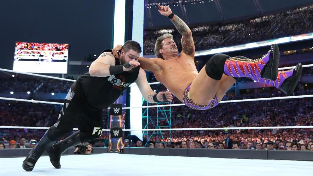 Chris Jericho Kevin Owens Wrestlemania 33