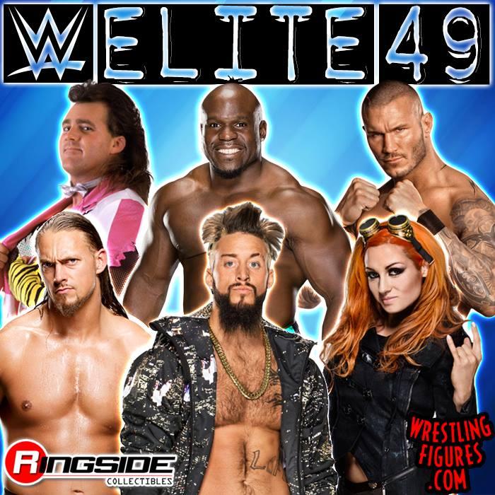 WWE Elite 49 Apollo Crews Enzo Amore Big Cass Randy Orton Brutus Beefcake Becky Lynch Mattel toys