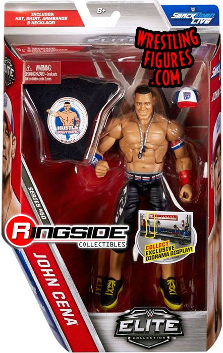 WWE Elite series 50 John Cena wrestling action figures toys