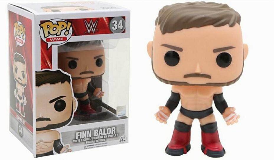 WWE Funko series Finn Balor 2017 toys action figures pop vinyl