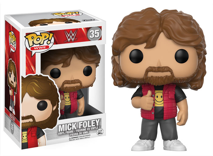 WWE Funko series Mick Foley 2017 toys action figures pop vinyl