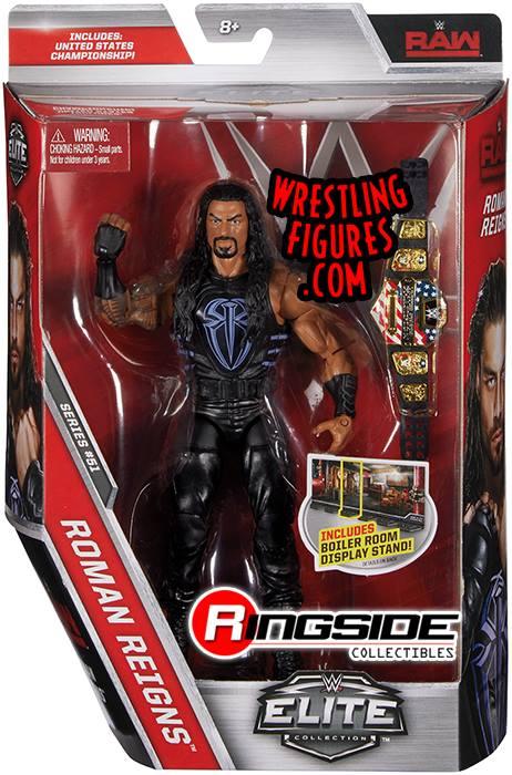 WWE Elite 51 Roman Reigns RAW action figures toys toy crazy