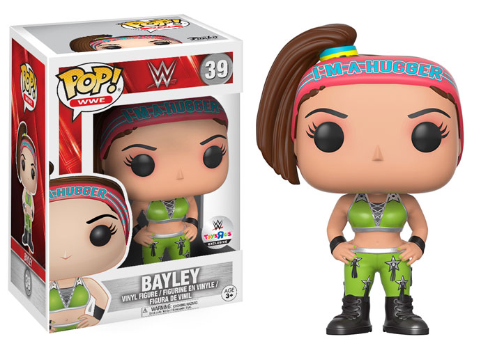 WWE Funko 2017 Bayley Toys R Us Exclusive TRU