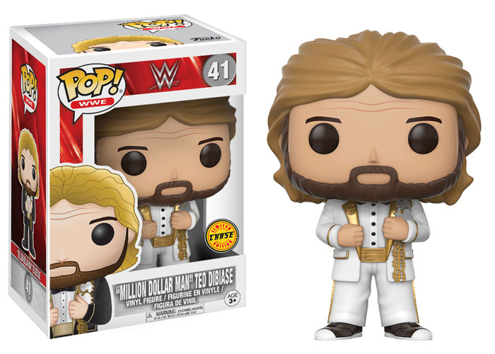 WWE Funko 2017 Million Dollar Man Ted Dibiase CHASE