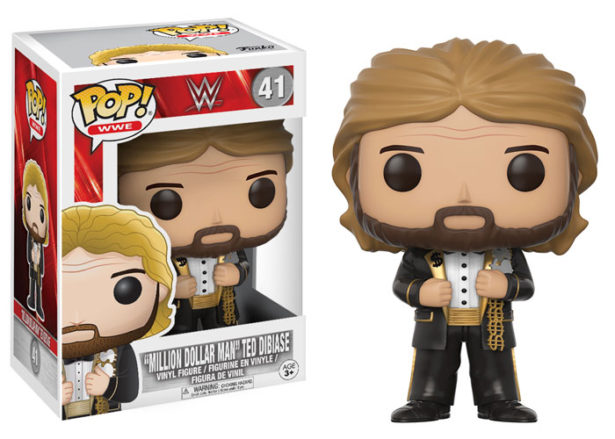 WWE Funko 2017 Million Dollar Man Ted Dibiase