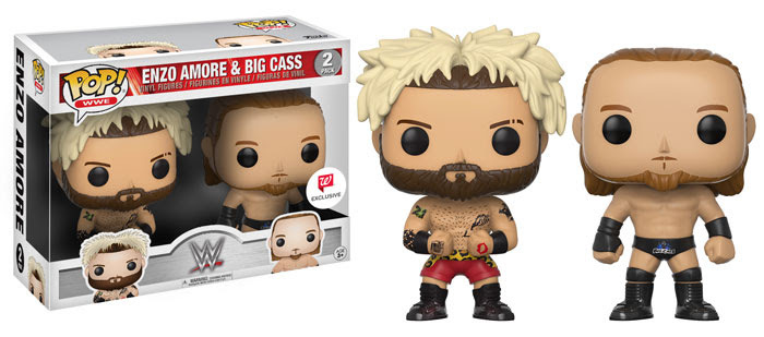 WWE Funko Enzo Amore Big Cass 2017 Walgreen Exclusive