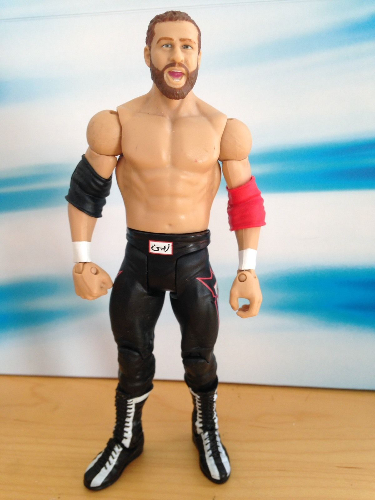 WWE NXT Basic Series 1 Sami Zayn Target Exclusive