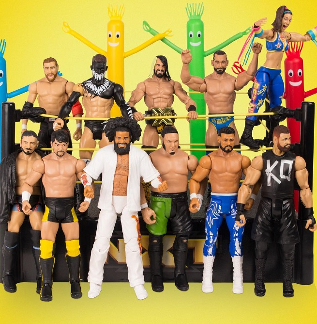 WWE NXT Elite Basic Series 1 Target Exclusive Wrestling Mattel